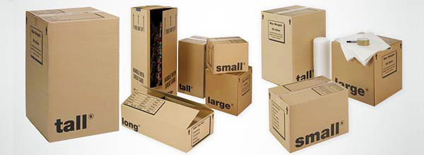Removals & packing boxes
