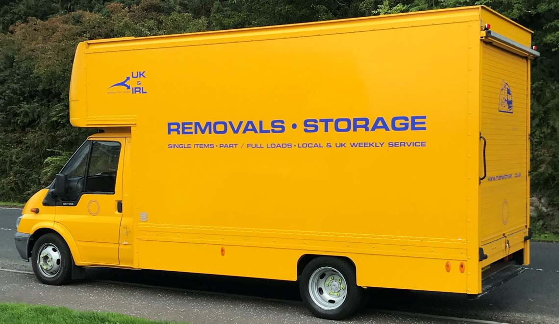 Affordable international and local removals Glasgow